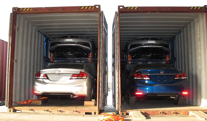Achieving Efficient Containerisation With A Car Storage Rack System