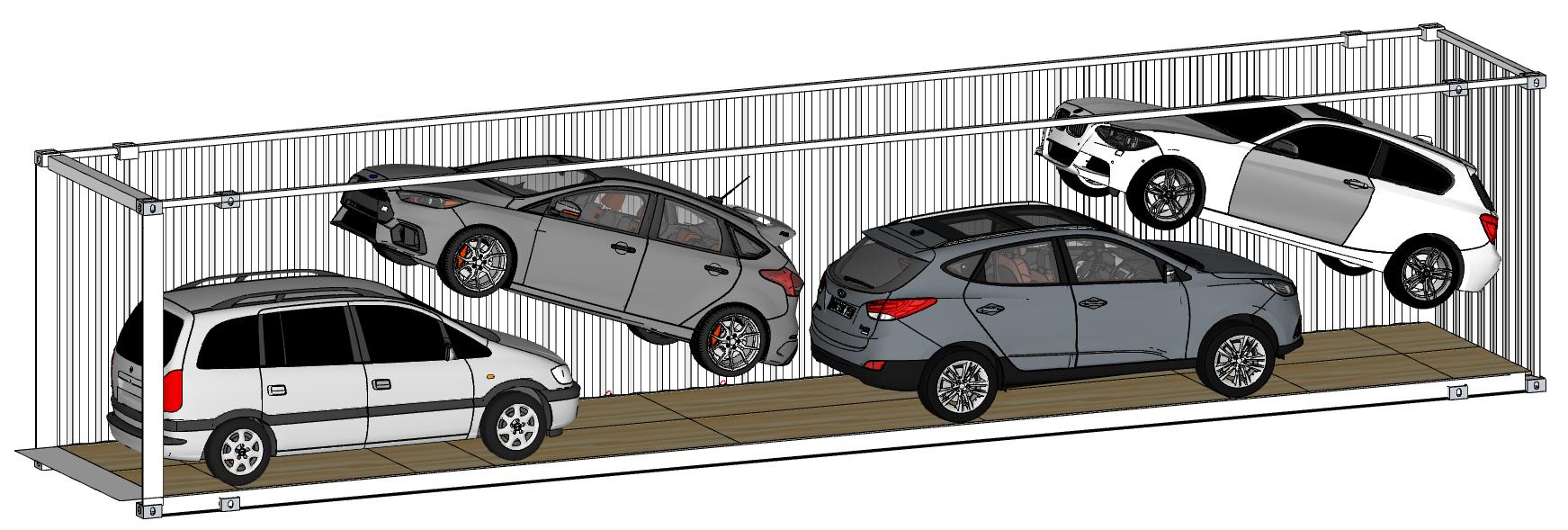 R-Rak Car Racking 3D