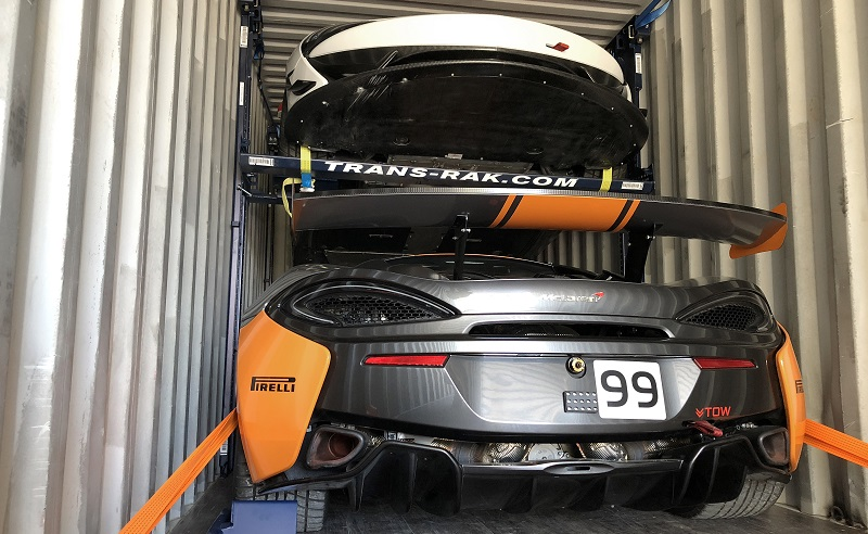 Case Study October 2018 - Bespoke Uses R-Raks For McLaren Motorsport Consignment To Bahrain