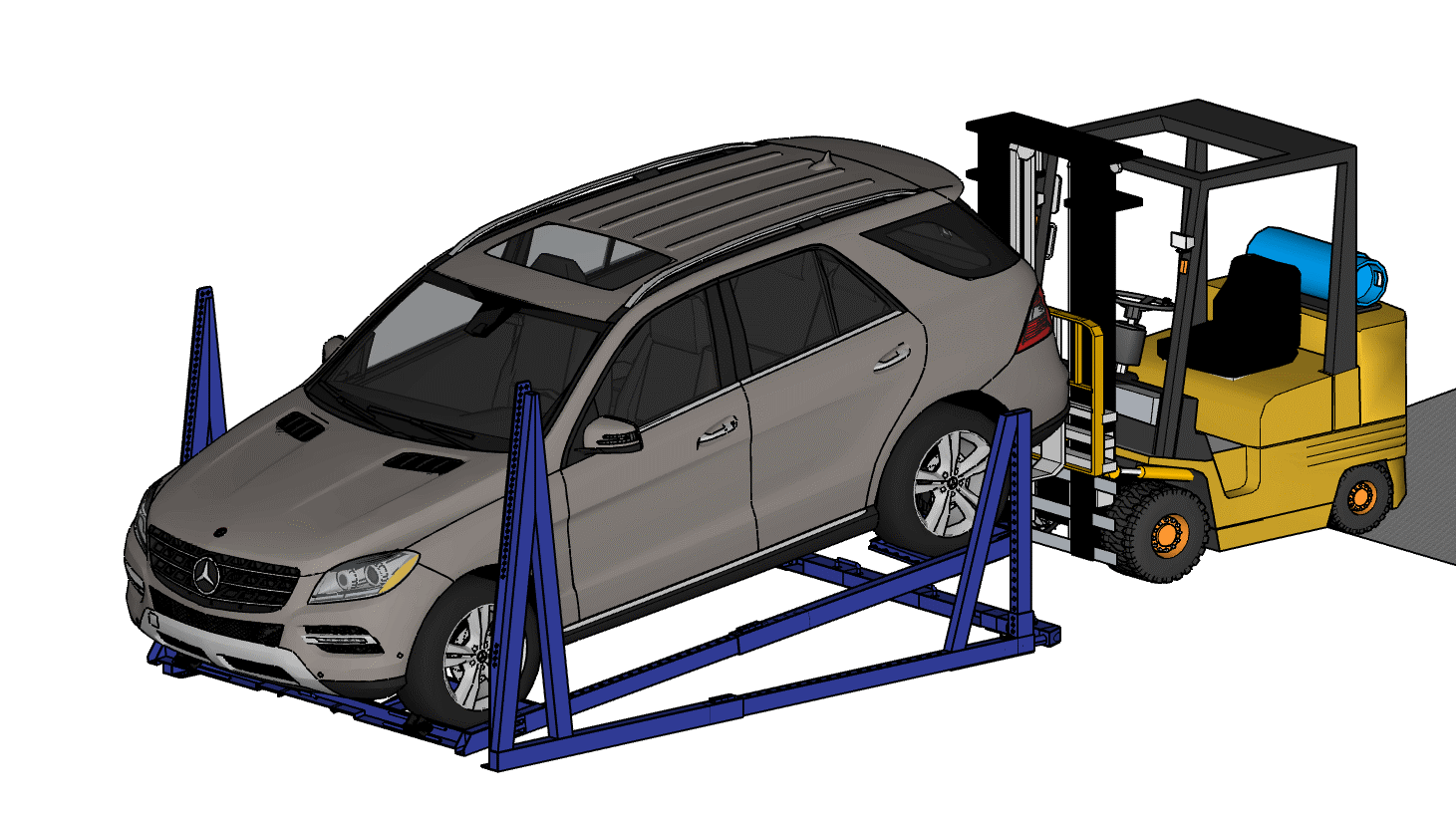 What Equipment Do I Need To Set Up My EL-RAK Car Racking System